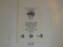 Western Traders Association Newsletter, 1983 February, Members Reference Manual