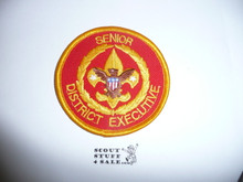 Senior District Executive Patch (SDE1), 1986-?, #2