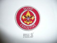 Scout Executive Patch (SE7), 1972-1990