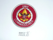 Neighborhood Commissioner / Unit Commissioner Patch (NC11), 1973-?