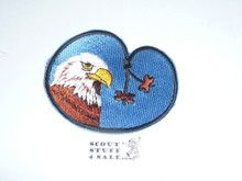Wood Badge Eagle Beads Patch