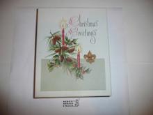 1950's Boy Scout Christmas Card set empty box
