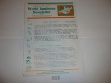 1987-88 World Jamboree Storm Clean-up Newsletter