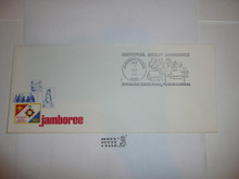 1977 National Jamboree Stationary #10 Envelope with Jamboree Cancellation