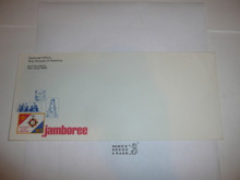 1977 National Jamboree Stationary #10 Envelope for National Office