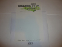 1964 National Jamboree Stationary