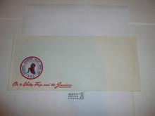 1957 National Jamboree Stationary #10 Envelope