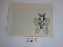 Invitation to the 1955 Eagle Scout, Silver Award and Quartermaster Honor Dinner of Los Angeles Area Council