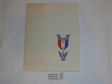 BSA Invitation to an Eagle Scout Court of Honor, printed #2