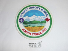 1983 World Jamboree Sticker