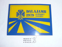 1979 World Jamboree Sticker