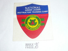 Schiff Scout Reservation National Junior Leader Instructor Training Camp Sticker