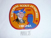1981 National Jamboree Sticker