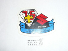 1985 National Jamboree Suzuki Sticker