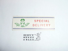 Girl Scout Special Delivery Gummed Seal