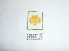 Girl Scouts Emblem Gummed Seal