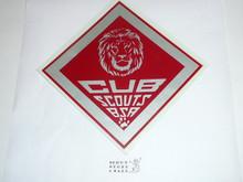Lion Cub Scout Decal, large
