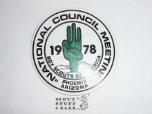 1978 Annual BSA National Meeting Sticker