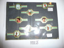 1967 World Jamboree Set of Cigar Bands