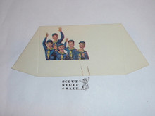 "1970's Boy Scout ""Scouting"" Place Card Table Topper"