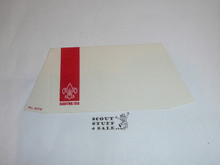 1960's Boy Scout Place Card Table Topper with Scouts of all branches
