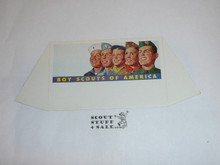 "1960's Boy Scout ""Boypower"" Place Card Table Topper"