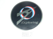 Round Exploring Sticker