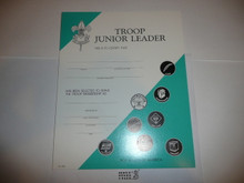 1990's Troop Leader Warrant Certificate, blank