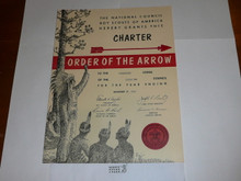 1963 Mikanakawa Lodge #101 Order of the Arrow Charter