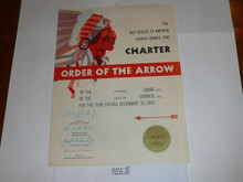 1967 Mikanakawa Lodge #101 Order of the Arrow Charter