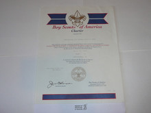 1996 Boy Scout Troop Charter, March