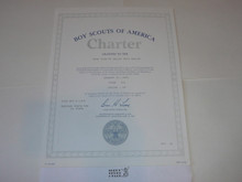 1991 Boy Scout Troop Charter, January