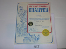 1981 Boy Scout Troop Charter, December, 30 year Veteran Troop