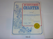1980 Boy Scout Troop Charter, October