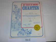 1980 Boy Scout Troop Charter, February
