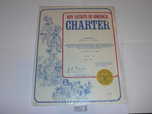 1980 Boy Scout Troop Charter, December