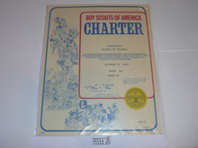 1979 Boy Scout Troop Charter, December
