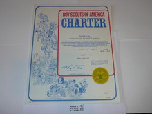 1979 Boy Scout Troop Charter, March