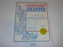 1979 Boy Scout Troop Charter, February
