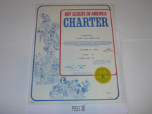 1978 Boy Scout Troop Charter, December