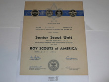 1953 Senior Sea Scout Ship Charter, May