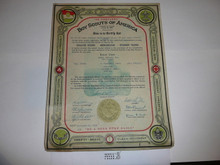 1938 Rover Scout Crew Charter, November