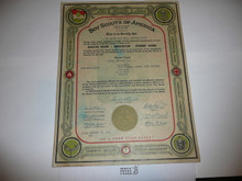 1936 Rover Scout Crew Charter, October