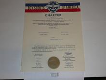 1958 Sea Scout Ship Charter, November