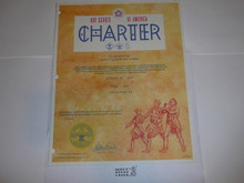 1977 Cub Scout Pack Charter, October