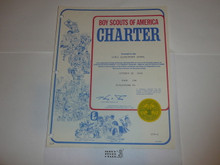 1980 Cub Scout Pack Charter, October