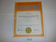 1976 Cub Scout Pack Charter, October