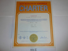 1975 Cub Scout Pack Charter, May