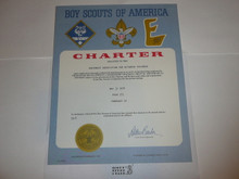 1974 Cub Scout Pack Charter, May