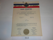 1959 Cub Scout Pack Charter, February